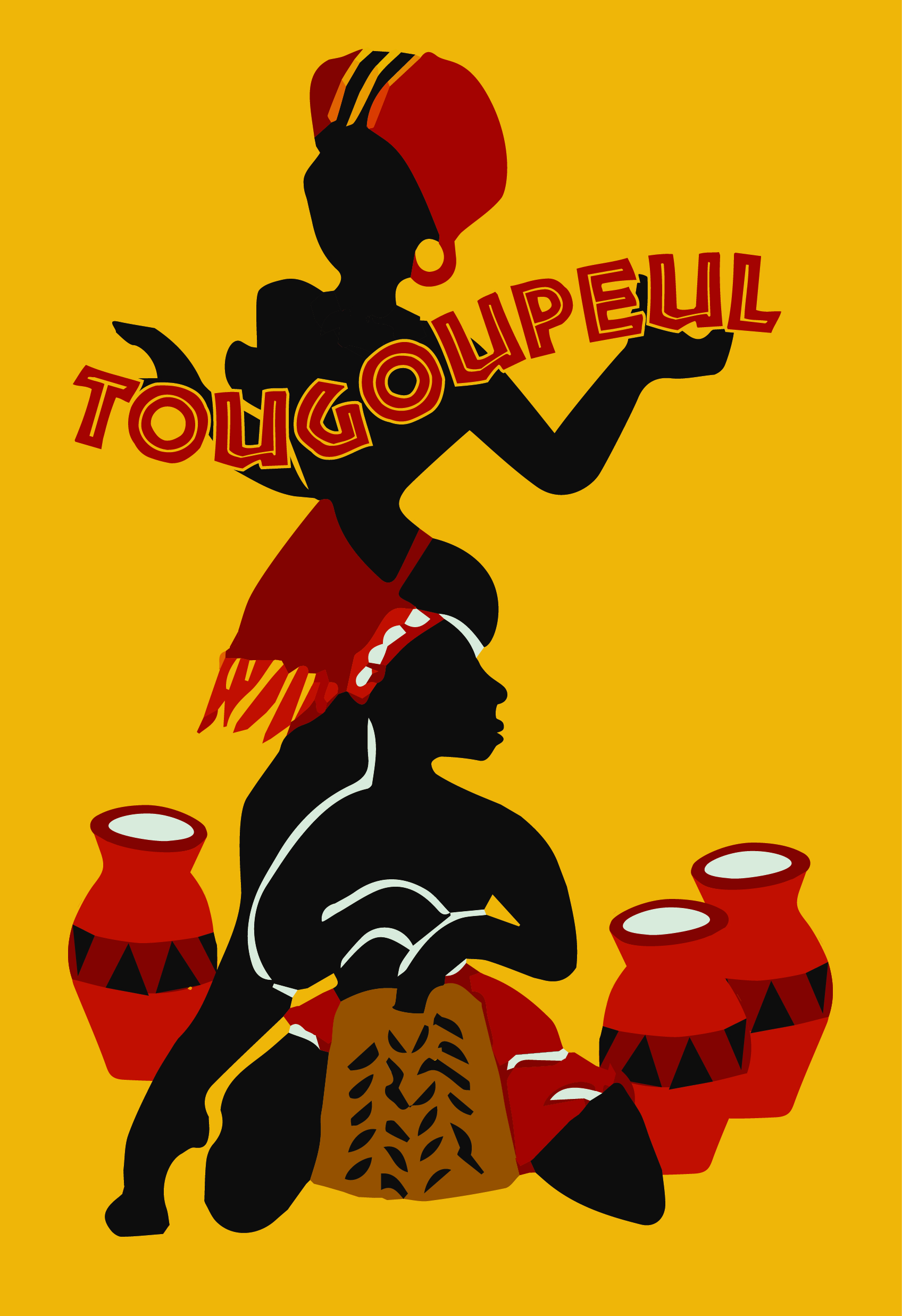 Het logo van vzw Tougoupeul